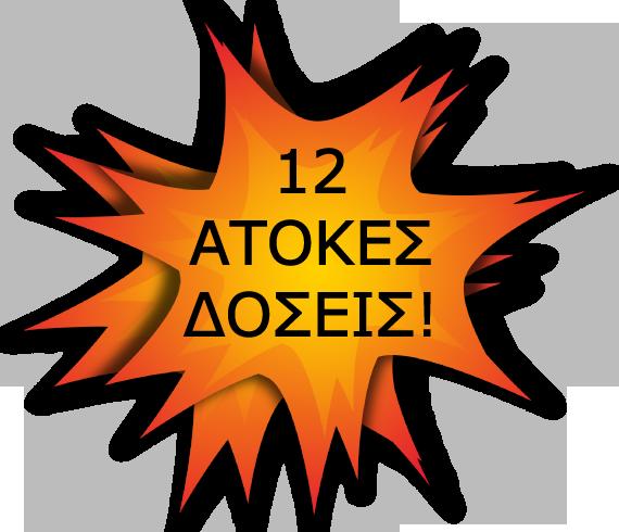 12 άτοκες δόσεις