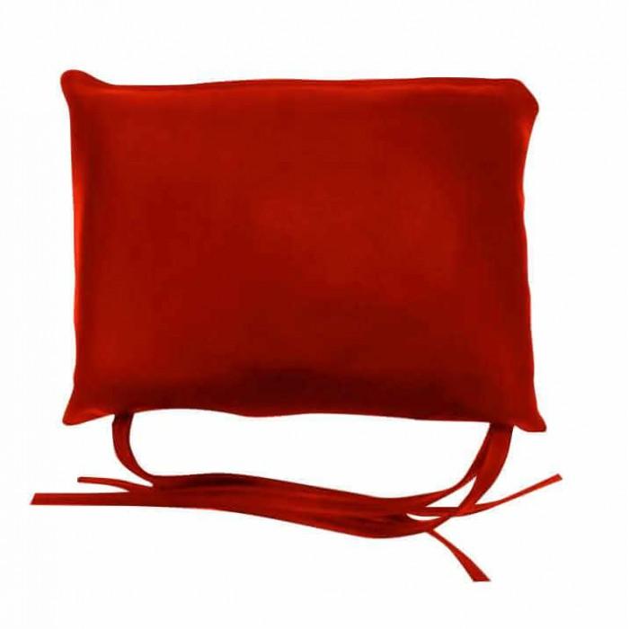 Μαξιλαράκι για στρώμα ξαπλώστρας δερματίνη κόκκινο της ferrari